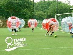 上海拓展训练泡泡足球